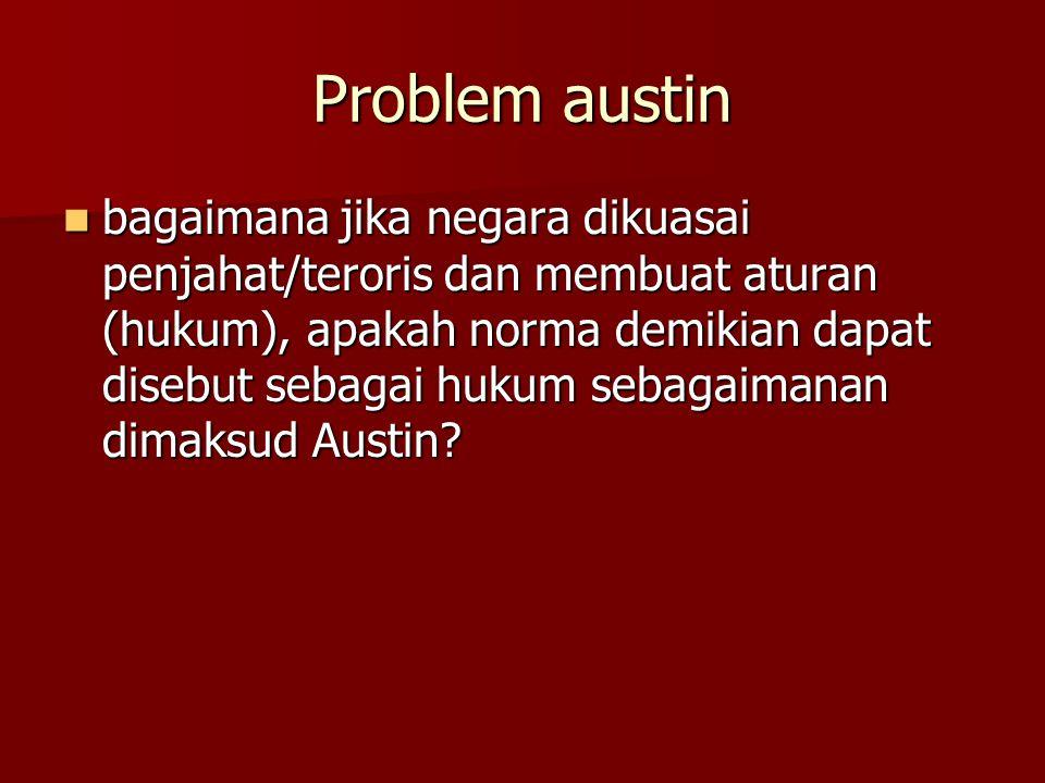Problem austin