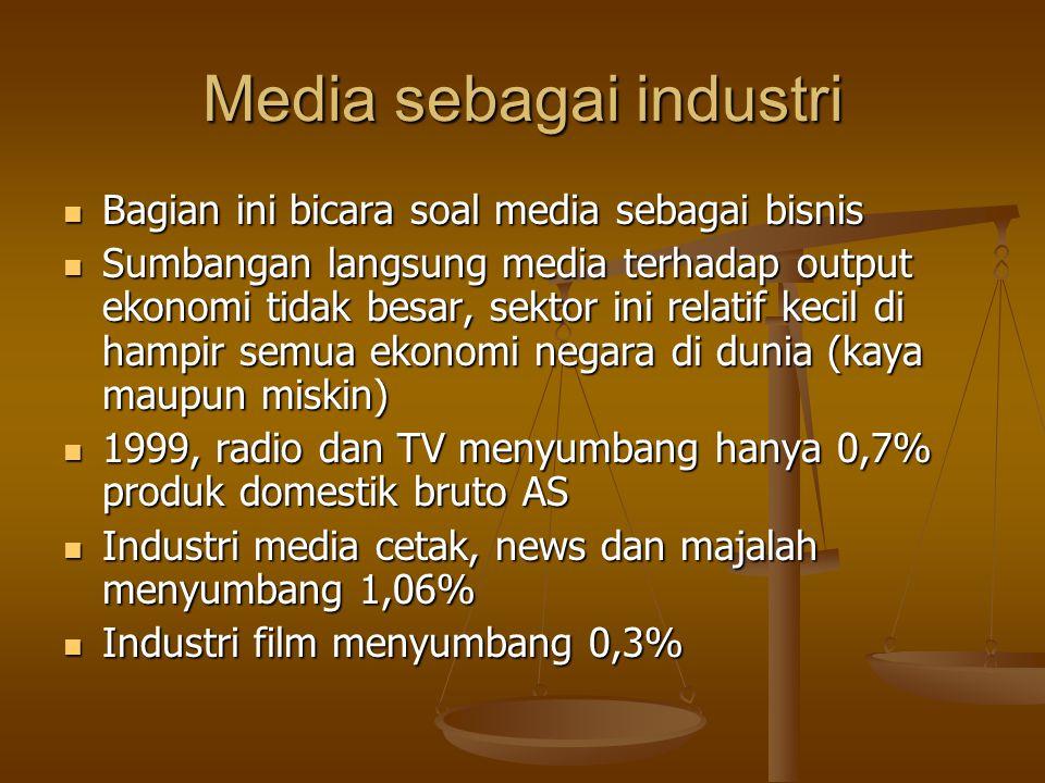 Media sebagai industri