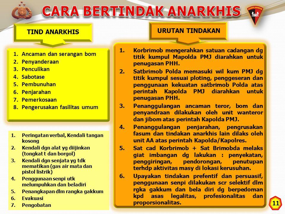 CARA BERTINDAK ANARKHIS