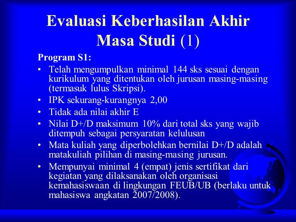 Evaluasi Keberhasilan Akhir Masa Studi (1)
