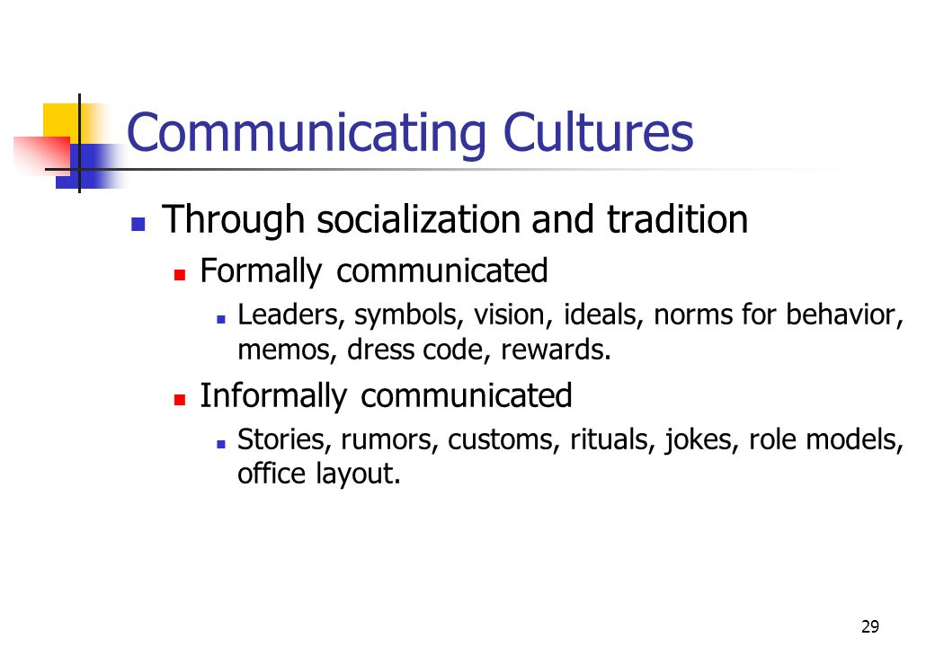 Communicating Cultures