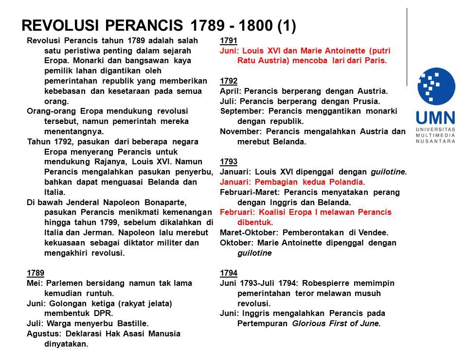 REVOLUSI PERANCIS 1789 - 1800 (1)