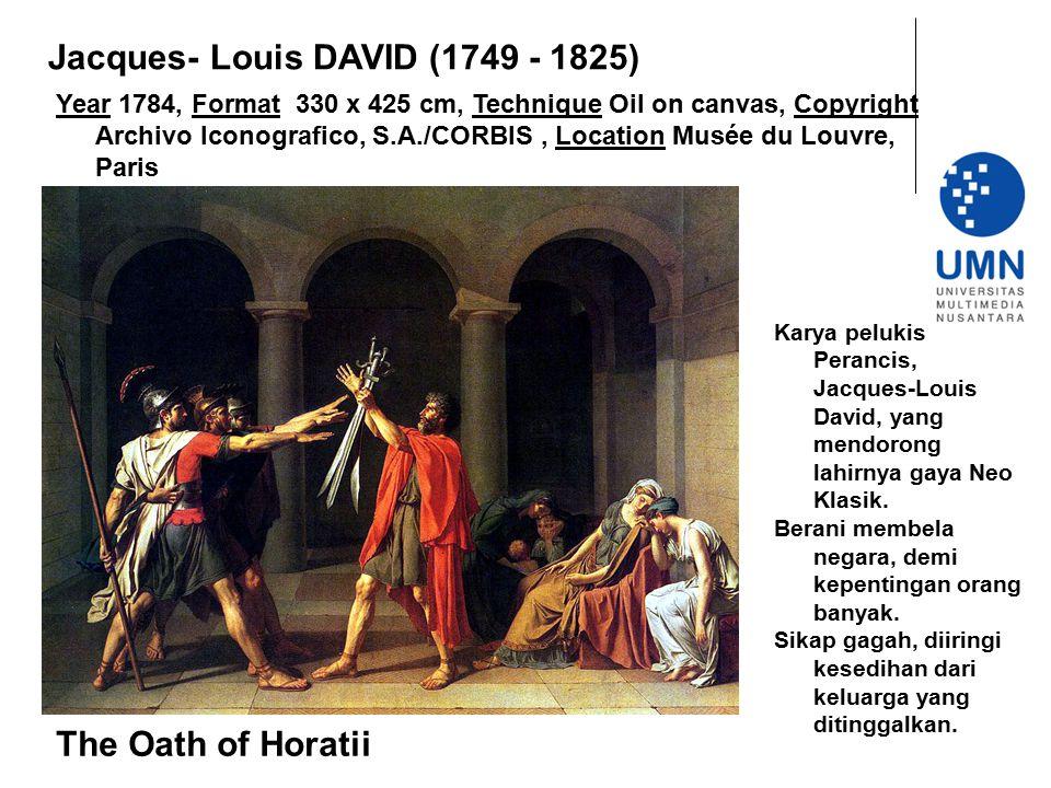 Jacques- Louis DAVID (1749 - 1825)