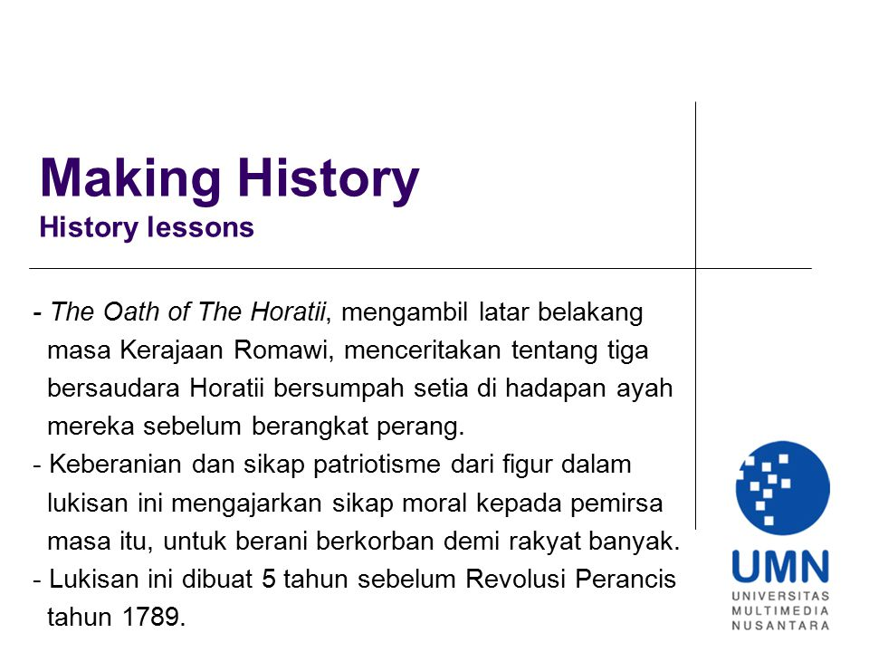 Making History History lessons