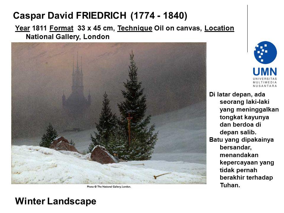 Caspar David FRIEDRICH (1774 - 1840)