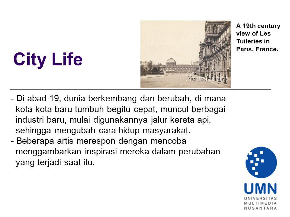City Life - Di abad 19, dunia berkembang dan berubah, di mana
