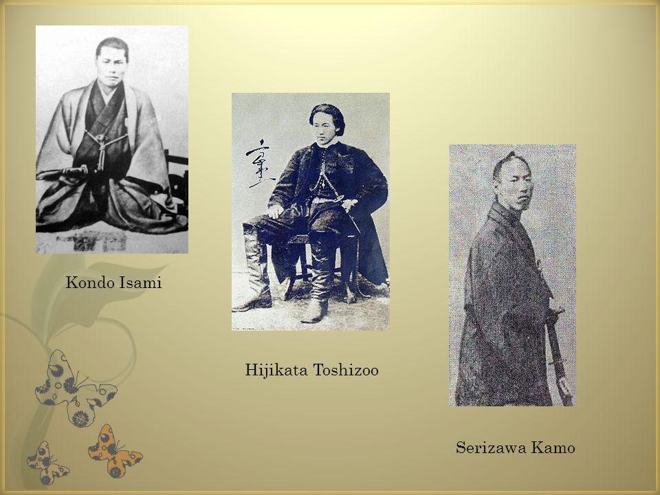 Kondo Isami Hijikata Toshizoo Serizawa Kamo