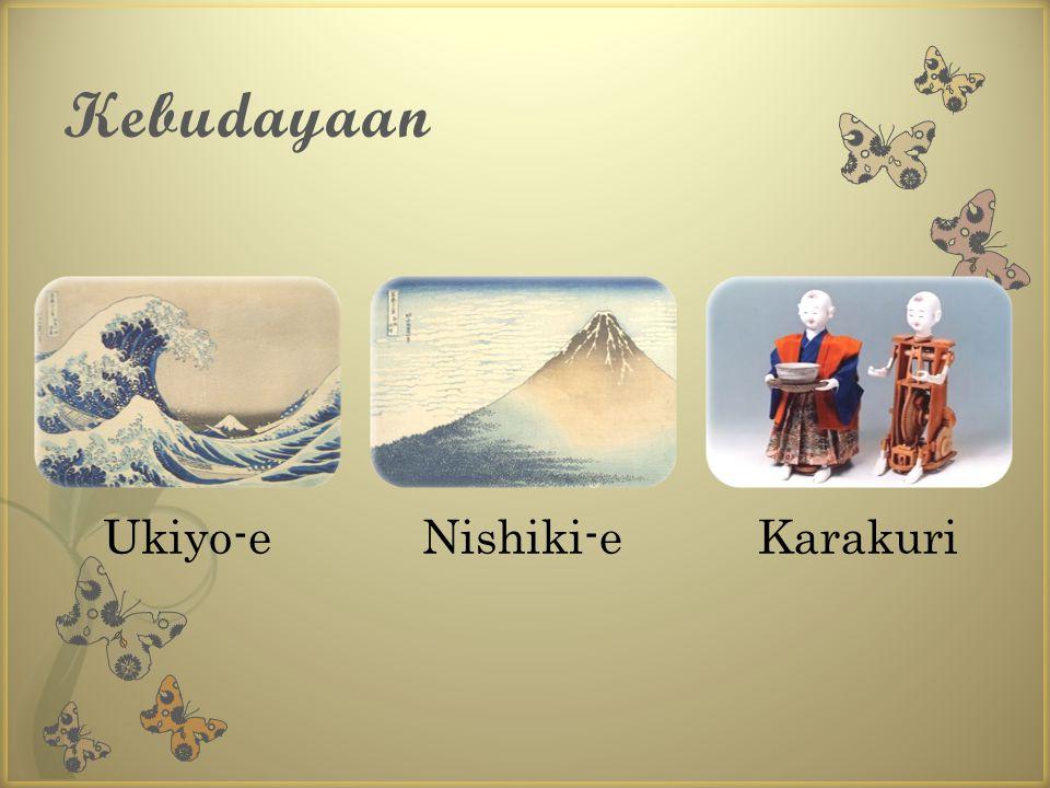 Kebudayaan Ukiyo-e Nishiki-e Karakuri