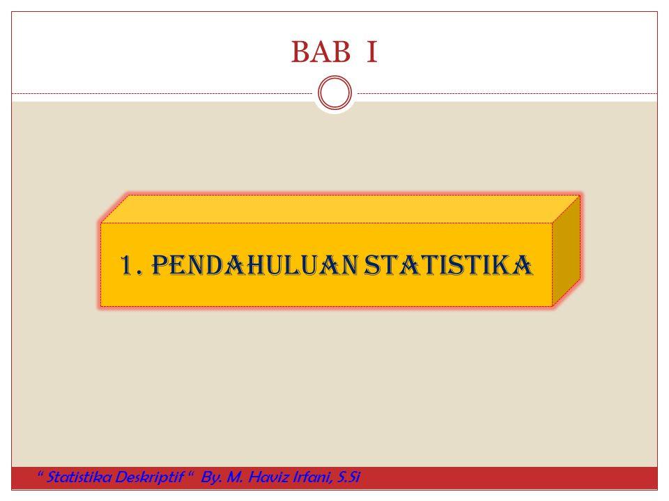 1. Pendahuluan Statistika