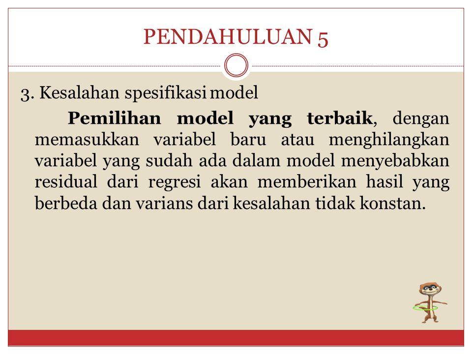 PENDAHULUAN 5
