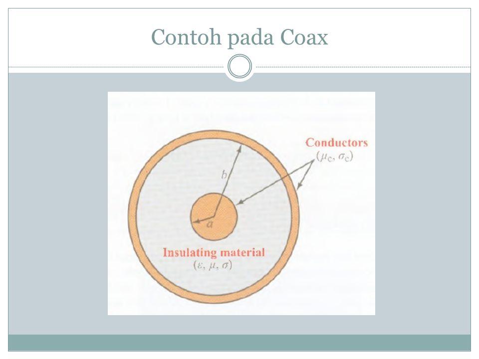 Contoh pada Coax