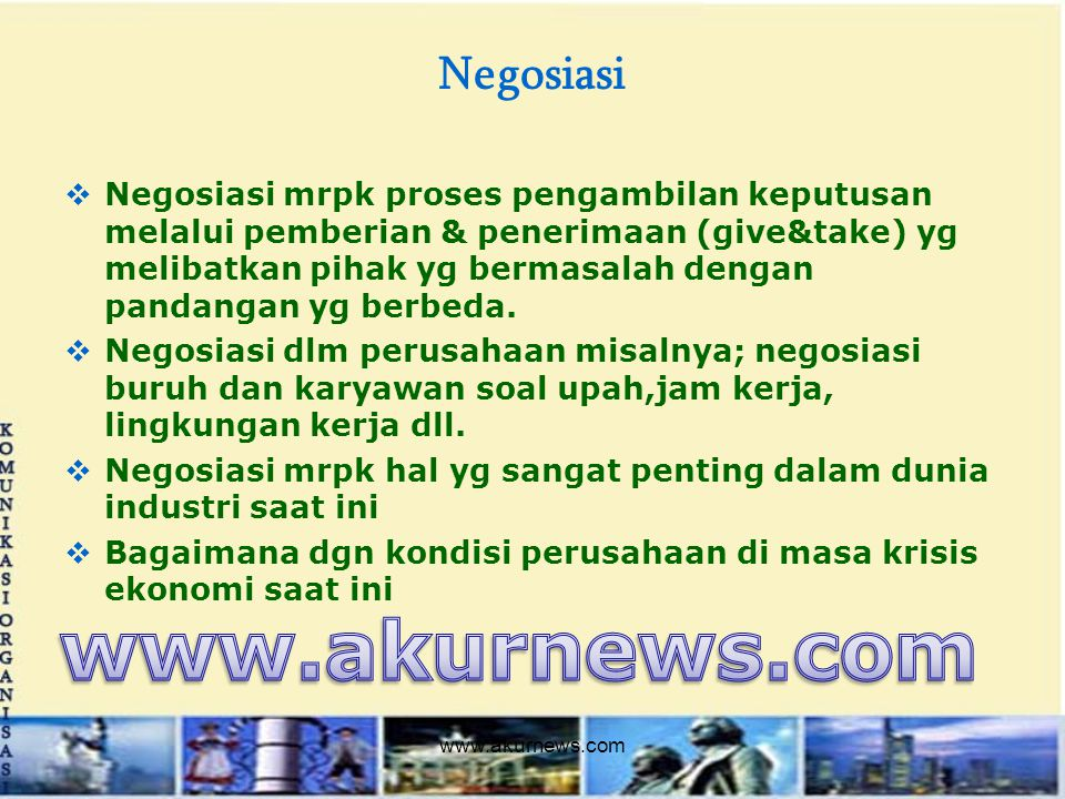 www.akurnews.com Negosiasi