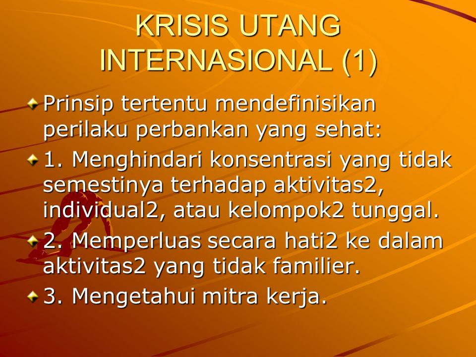 KRISIS UTANG INTERNASIONAL (1)