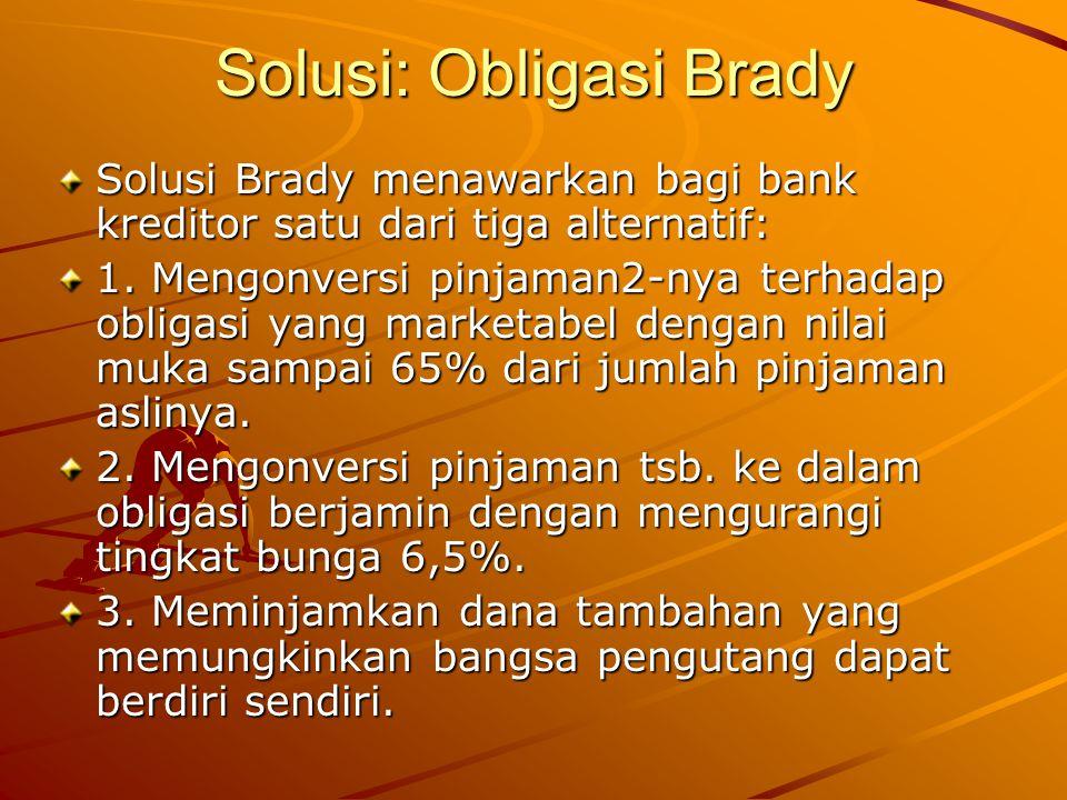 Solusi: Obligasi Brady