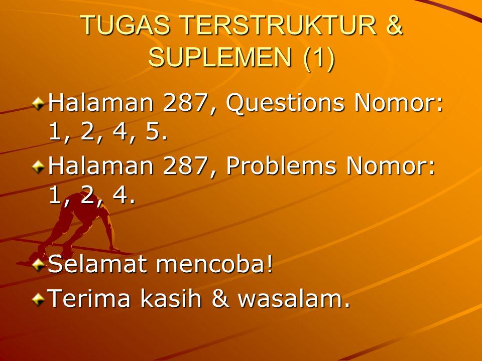 TUGAS TERSTRUKTUR & SUPLEMEN (1)