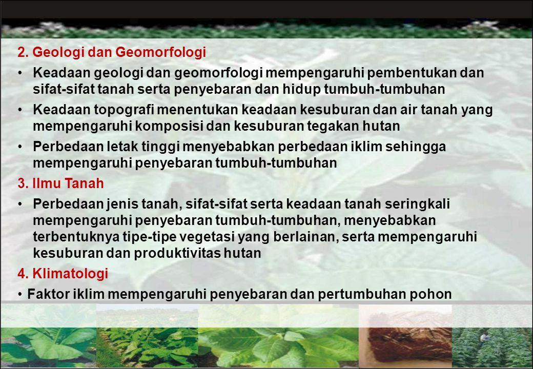 2. Geologi dan Geomorfologi
