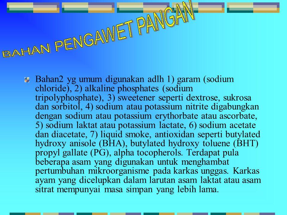BAHAN PENGAWET PANGAN