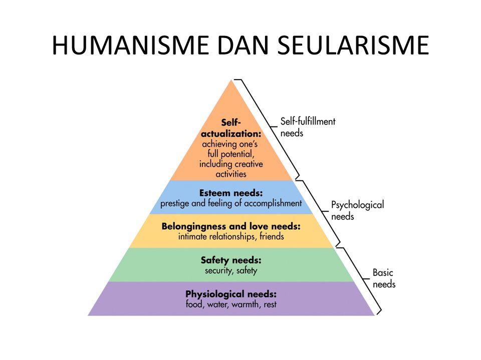 HUMANISME DAN SEULARISME
