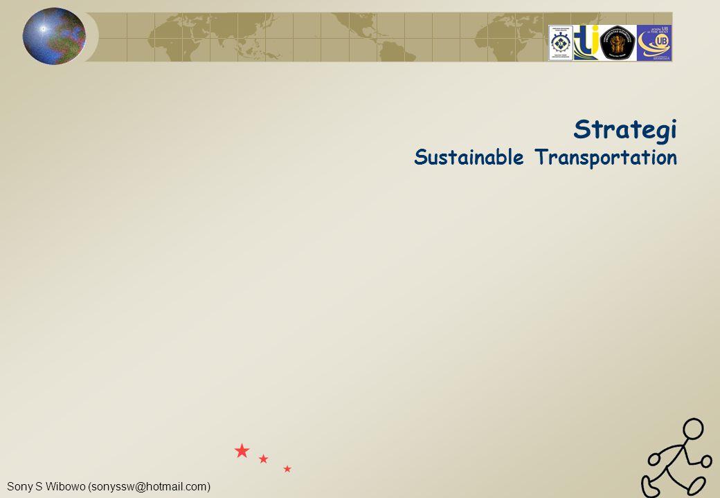 Strategi Sustainable Transportation