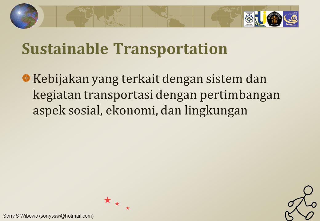 Sustainable Transportation