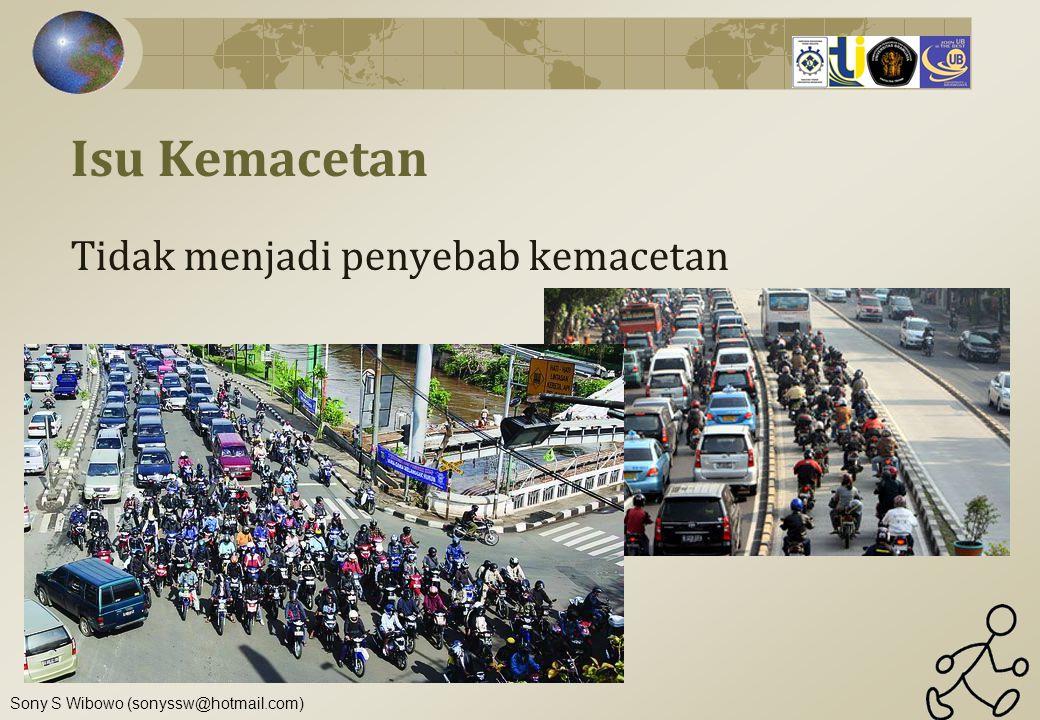 Isu Kemacetan Tidak menjadi penyebab kemacetan