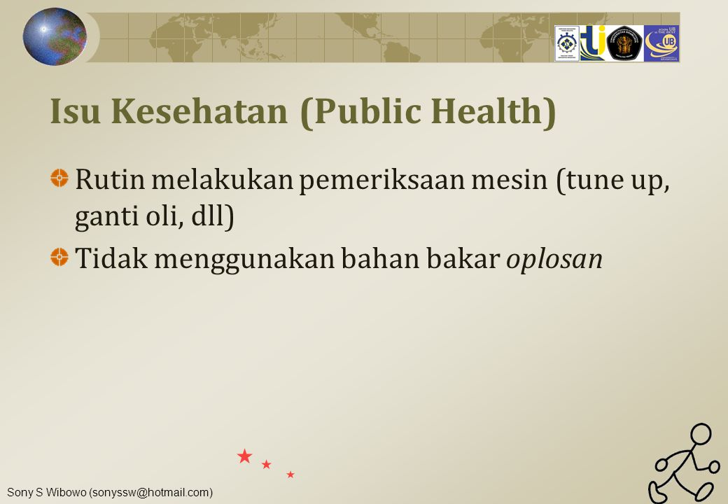 Isu Kesehatan (Public Health)