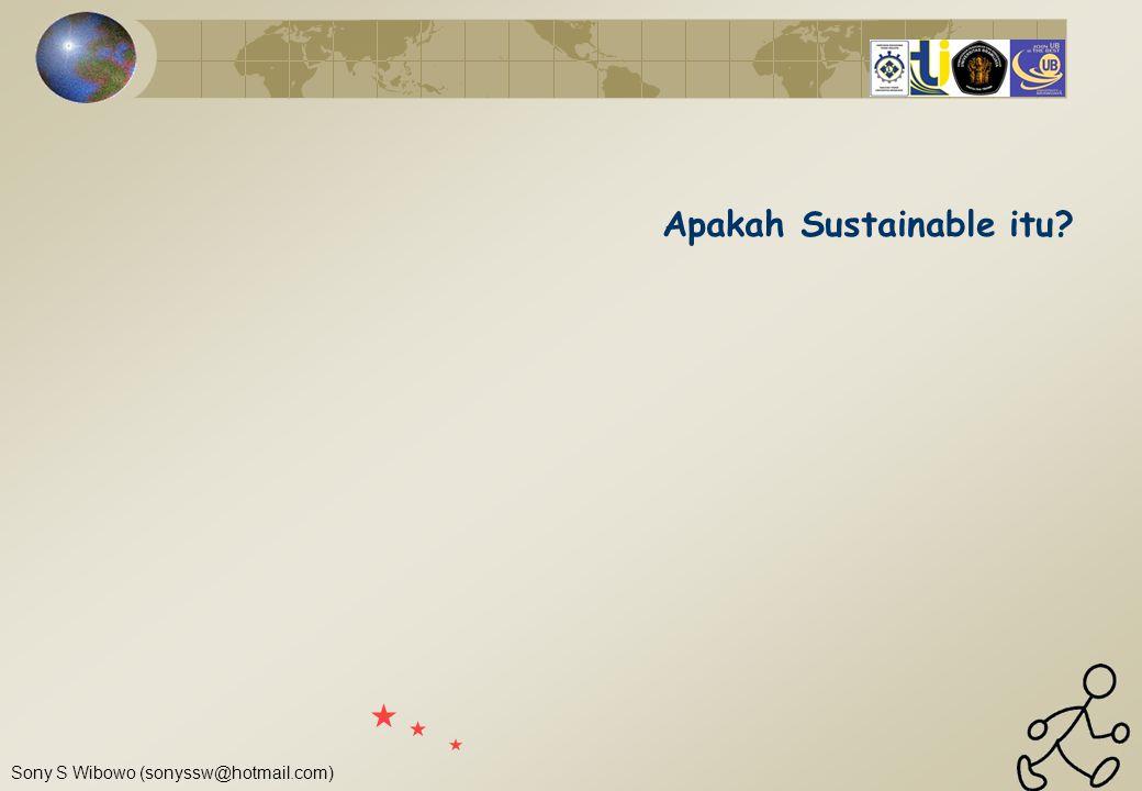 Apakah Sustainable itu
