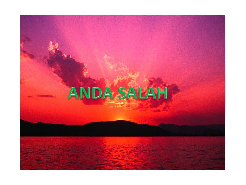 ANDA SALAH
