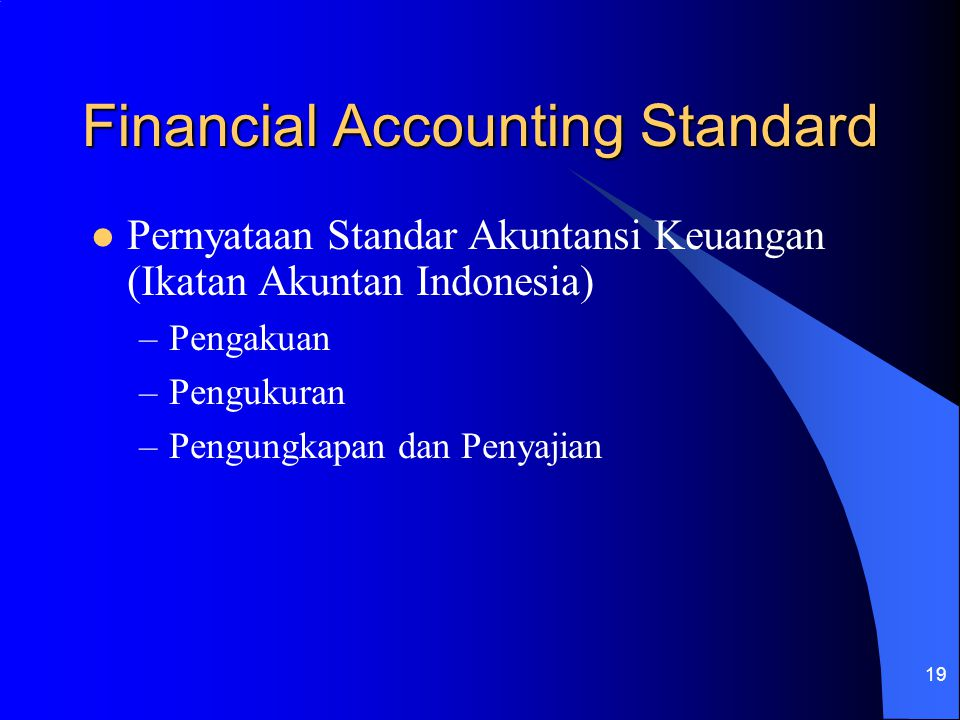 Financial Accounting Standard