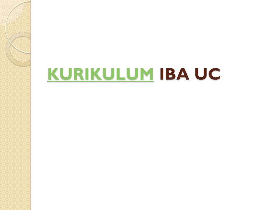 KURIKULUM IBA UC