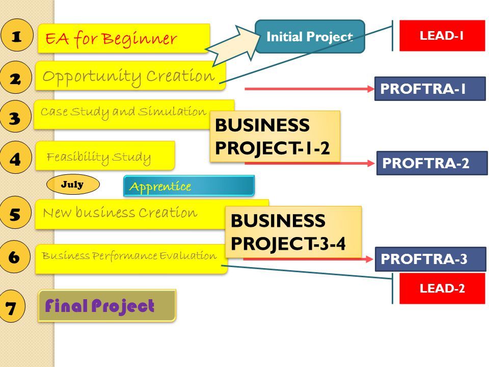 1 EA for Beginner 2 Opportunity Creation 3 BUSINESS PROJECT-1-2 4