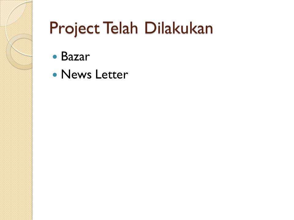 Project Telah Dilakukan