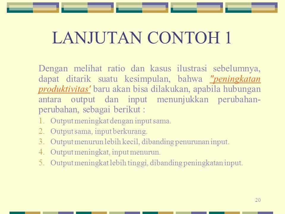 LANJUTAN CONTOH 1