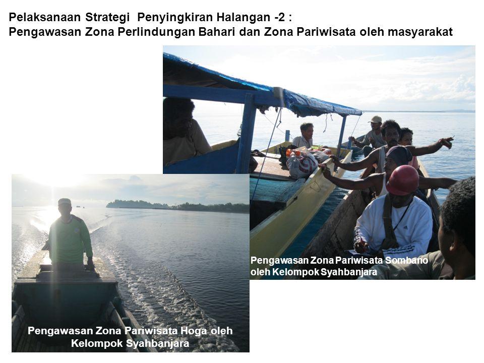 Pengawasan Zona Pariwisata Hoga oleh Kelompok Syahbanjara