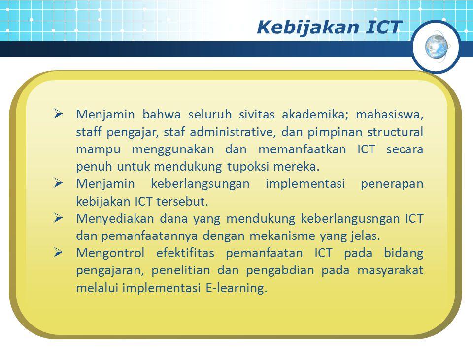 Kebijakan ICT