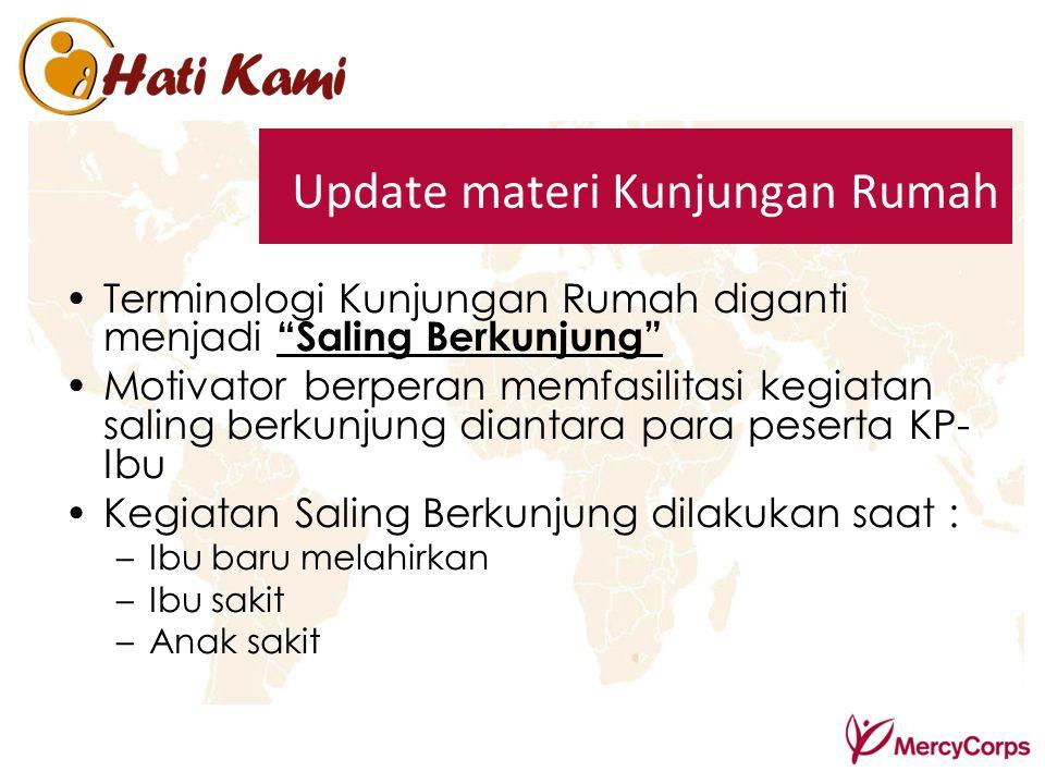 Update materi Kunjungan Rumah