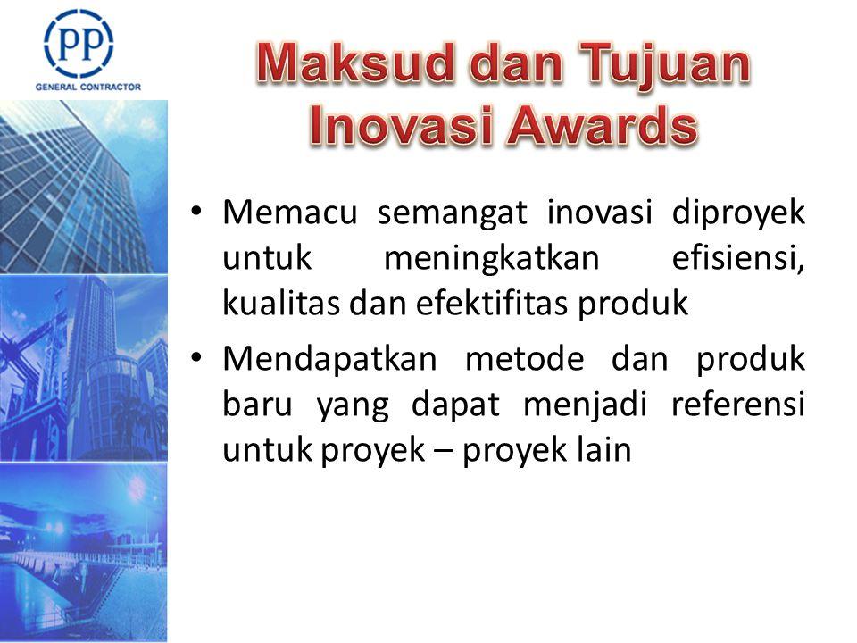 Maksud dan Tujuan Inovasi Awards