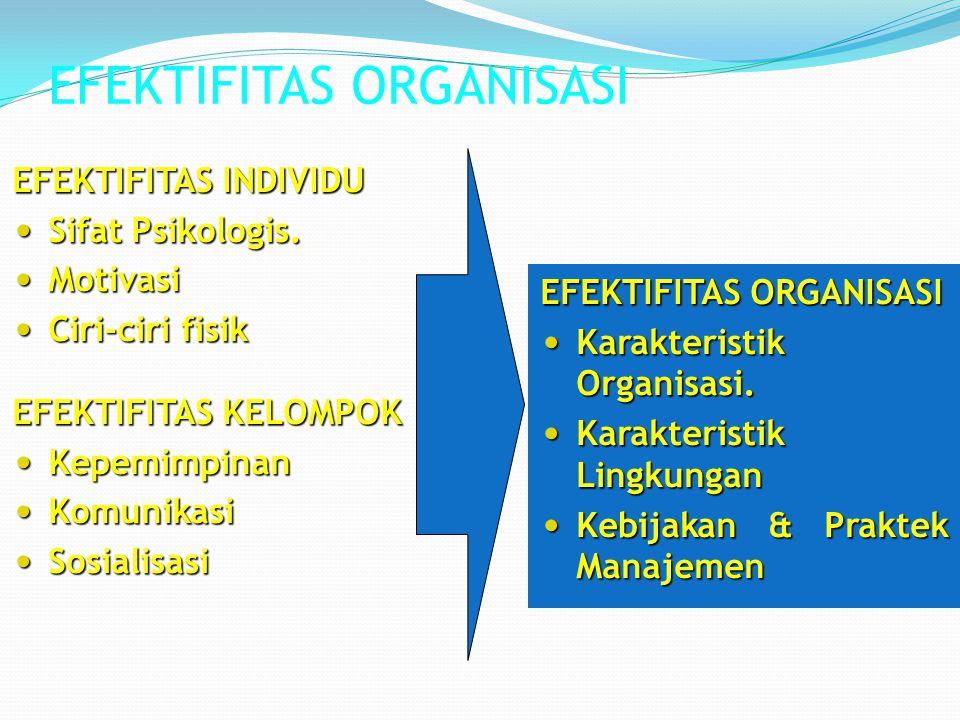 EFEKTIFITAS ORGANISASI