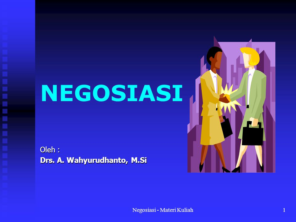 Oleh : Drs. A. Wahyurudhanto, M.Si
