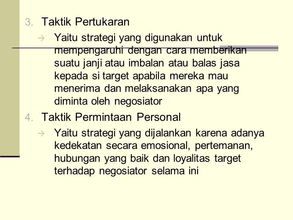 Taktik Permintaan Personal