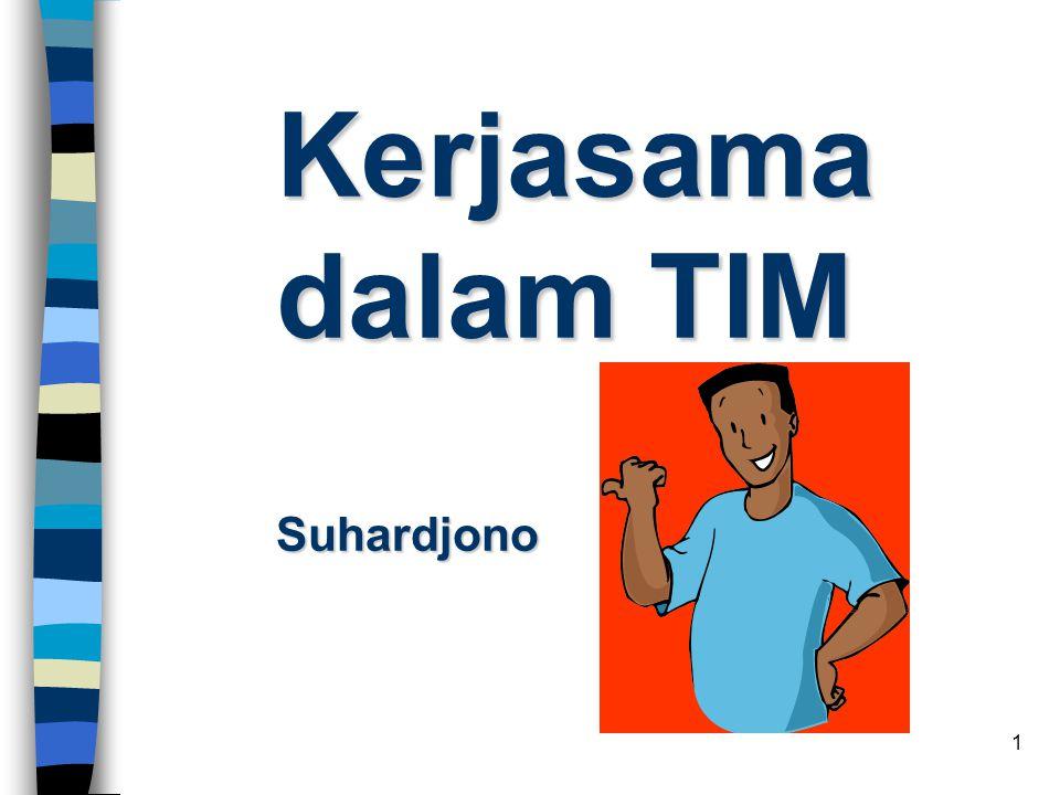 Kerjasama dalam TIM Suhardjono