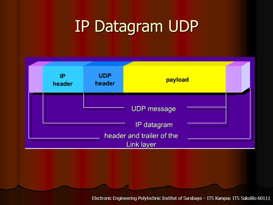 IP Datagram UDP