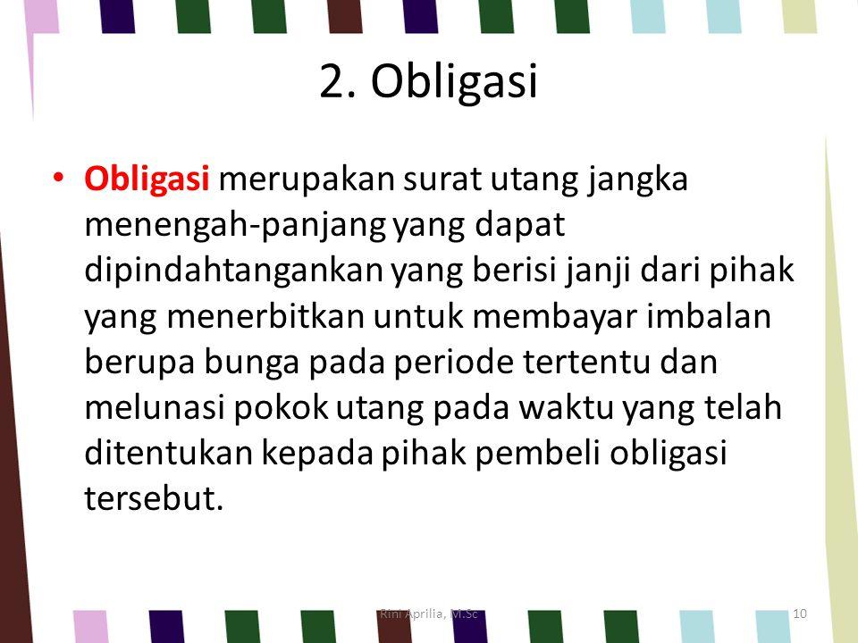 2. Obligasi