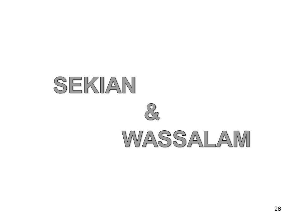 SEKIAN & WASSALAM