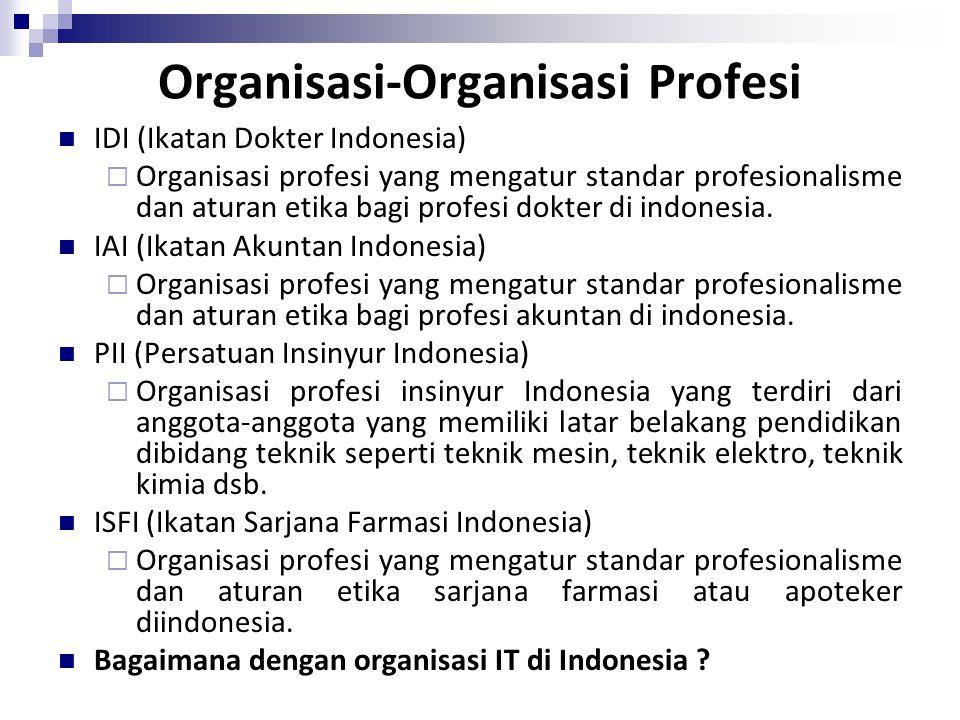 Organisasi-Organisasi Profesi