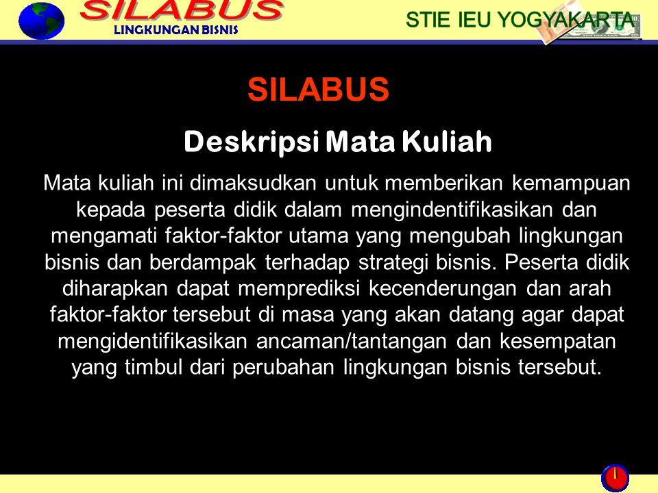 SILABUS Deskripsi Mata Kuliah