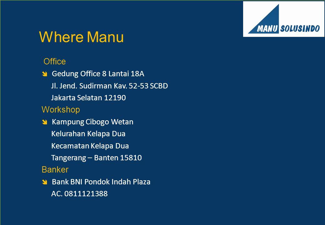 Where Manu Office Gedung Office 8 Lantai 18A