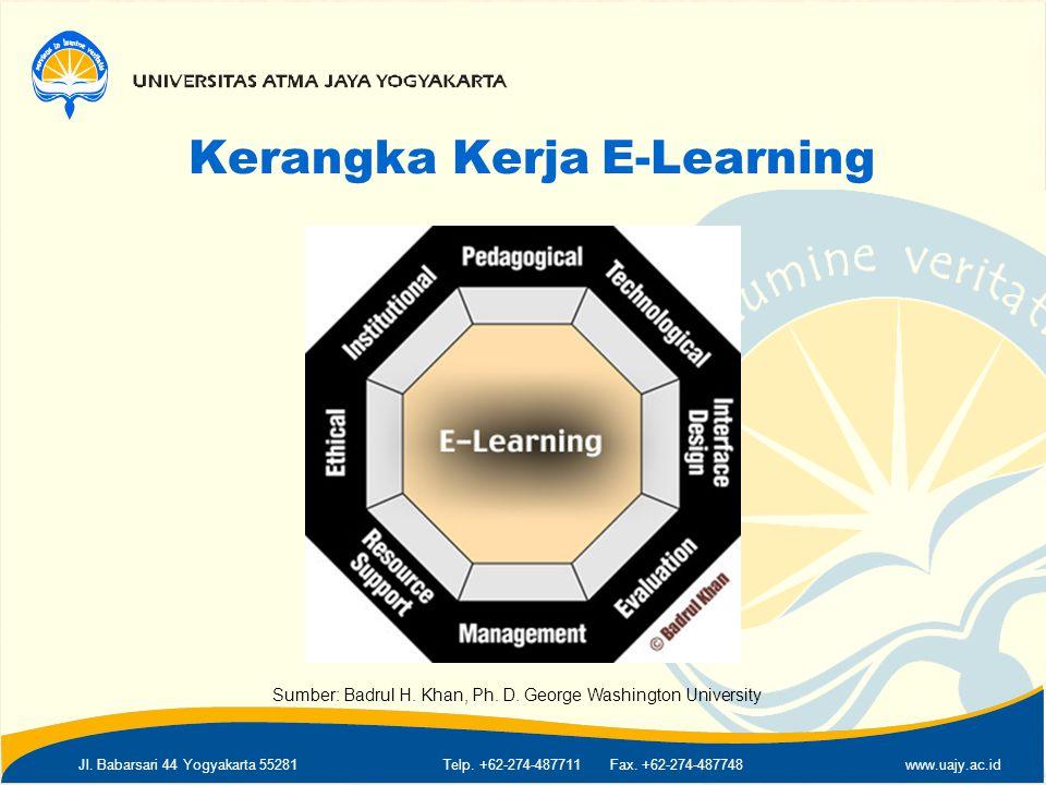 Kerangka Kerja E-Learning