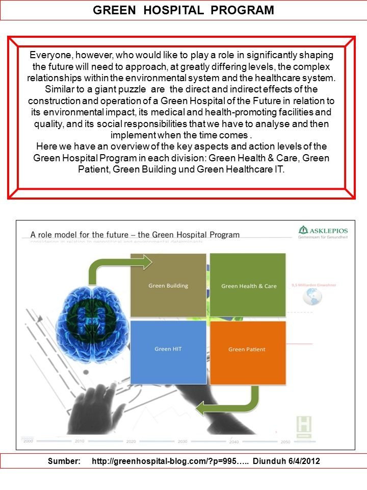 GREEN HOSPITAL PROGRAM
