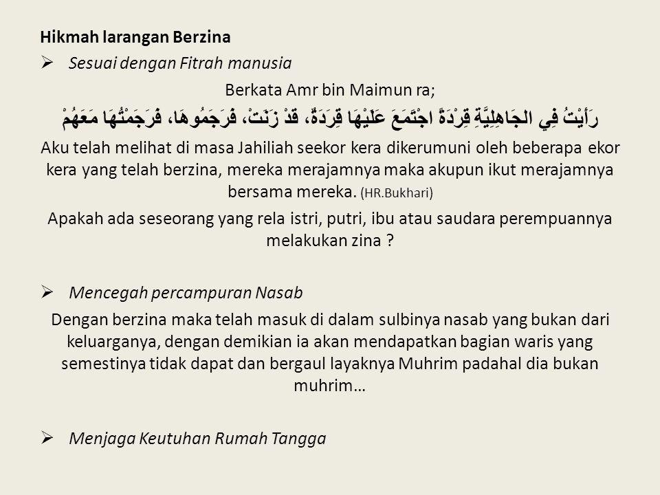 Berkata Amr bin Maimun ra;